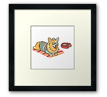 Sun's out bums out! Framed Print