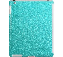 Tiffany Aqua Blue Glitter iPad Case/Skin