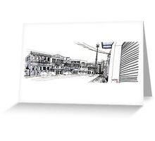 Curitiba - UrbanSketcher - Saldanha Marinho Greeting Card