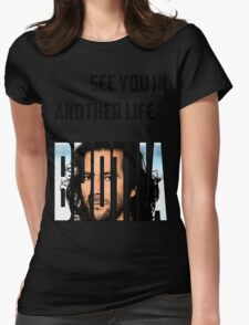 BROTHA Womens Fitted T-Shirt