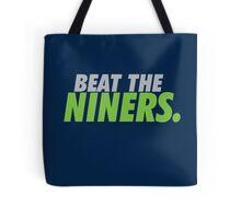 Beat the Niners Tote Bag