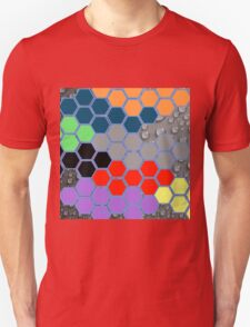 Collage of different patterns Unisex T-Shirt