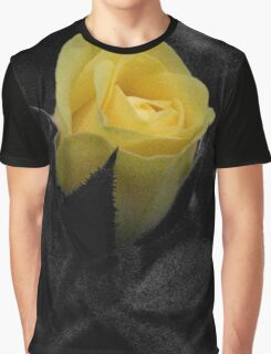 Rose in Black Graphic T-Shirt