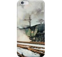 4470 Steams through a cold wintery day iPhone Case/Skin