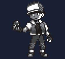 Red (Trainer) - Pokemon Red & Blue Kids Tee