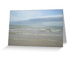 Seaside Waves Greeting Card