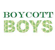 Boycott Boys Photographic Print
