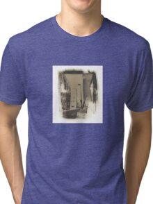 Portland Maine Salt Print Photo Tri-blend T-Shirt