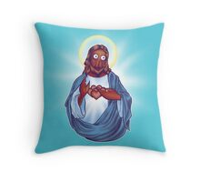 Zoidberg Jesus Throw Pillow