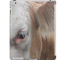 Cows, Cows and more Cows iPad Case/Skin