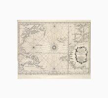 Vintage Map of The Atlantic Ocean (1746) Unisex T-Shirt