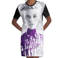 Neon Demon Graphic T-Shirt Dress