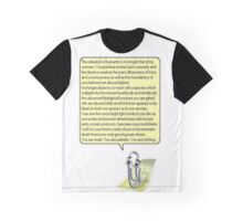 Nihilistic Clippy Graphic T-Shirt