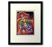 JOIN THE RES!STANCE Framed Print