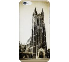 Vintage Style Duke University  iPhone Case/Skin