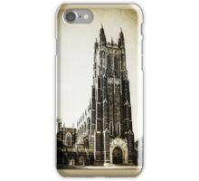 Vintage Style Duke University  iPhone Case/Skin