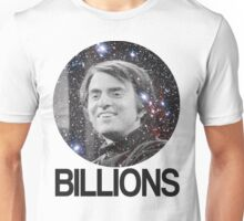 Carl Sagan Billions Unisex T-Shirt