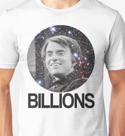 Carl Sagan Billions Unisex T-Shirt