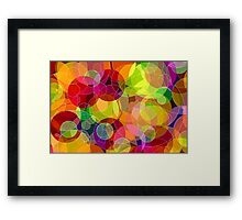 Bubble Madness Framed Print