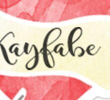 Kayfabe Sticker