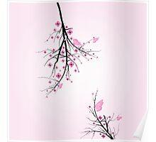 Blossom cherry Poster