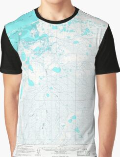 USGS TOPO Map Alaska AK Chignik C-4 354940 1963 63360 Graphic T-Shirt