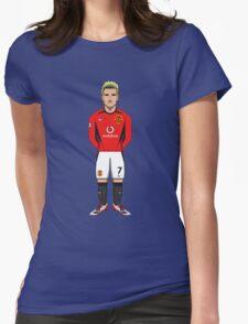 David Beckham Womens Fitted T-Shirt