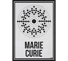 MARIE CURIE - Women in Science Wall Art Photographic Print