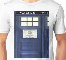 Tardis Doors Unisex T-Shirt