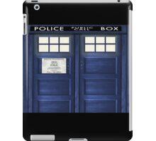 Tardis Doors iPad Case/Skin