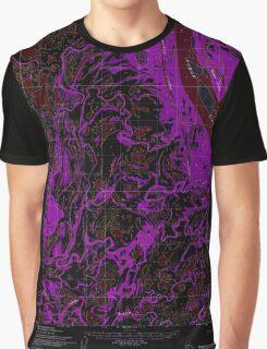 USGS TOPO Map Alaska AK Marshall D-4 357252 1952 63360 Inverted Graphic T-Shirt