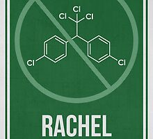 RACHEL CARSON - Women in Science Wall Art by Hydrogene