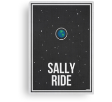 SALLY RIDE- Women in Science Collection Canvas Print