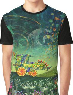 Green Car Graphic T-Shirt