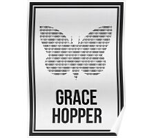 GRACE HOPPER - Women in Science Wall Art Poster