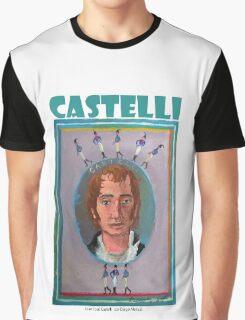 Juan José Castelli por Diego Manuel Graphic T-Shirt