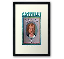 Juan José Castelli por Diego Manuel Framed Print