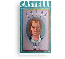 Juan José Castelli por Diego Manuel Metal Print