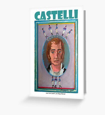 Juan José Castelli por Diego Manuel Greeting Card