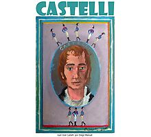 Juan José Castelli por Diego Manuel Photographic Print