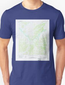 USGS TOPO Map Alaska AK Melozitna A-6 357502 1952 63360 Unisex T-Shirt