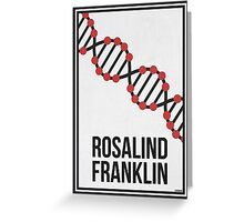 ROSALIND FRANKLIN - Women in Science Wall Art Greeting Card