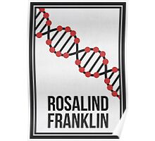 ROSALIND FRANKLIN - Women in Science Collection Poster