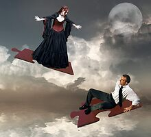 If The Sky Came Falling Down... by Karen  Helgesen