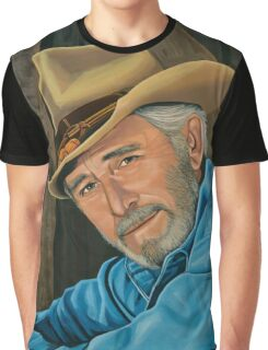Don Williams Painting Graphic T-Shirt