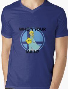 Who's Your Main? Rosalina & Luma! Mens V-Neck T-Shirt