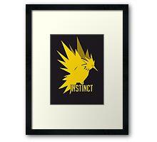 instinct Framed Print