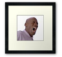 michael jordan is upset Framed Print
