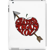 Crazier Than You iPad Case/Skin