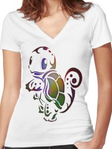 Go Water Women's Fitted V-Neck T-Shirt